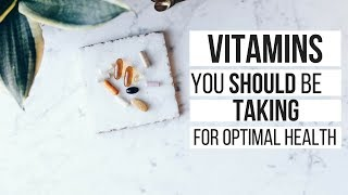 My Supplement Routine | Vitamins That Increase Energy + Balance Hormones Feat. Care/Of