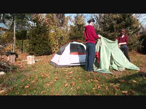 Alps Mountaineering Lynx 2 Set up and Breakdown Only & Alps Mountaineering Lynx 2 Set up and Breakdown Only - YouTube