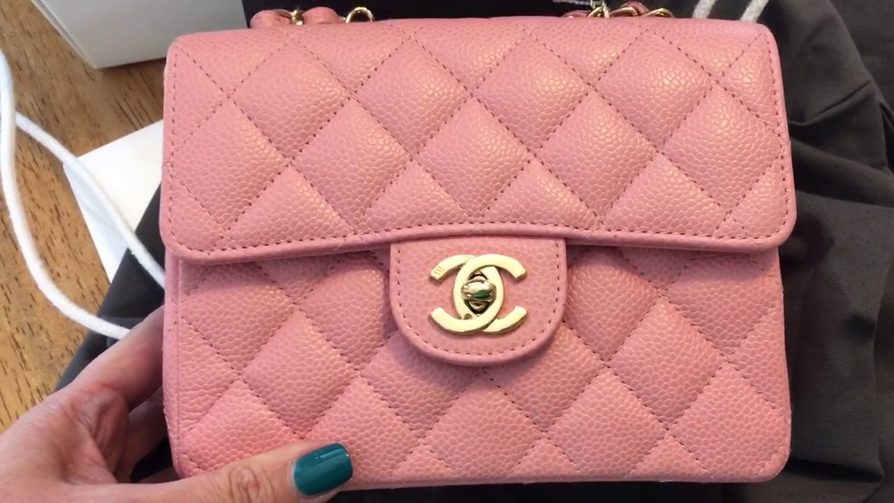 62965a40df0e Chanel mini flap Unboxing from Fashionphile - YouTube