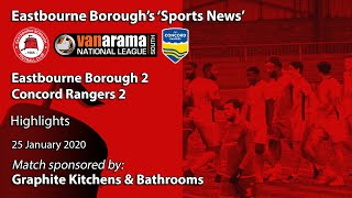 'Sports News': Eastbourne Borough 2 v 2 Concord Rangers –National League South Highlights