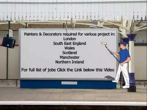 Painters Decorator Jobs Youtube