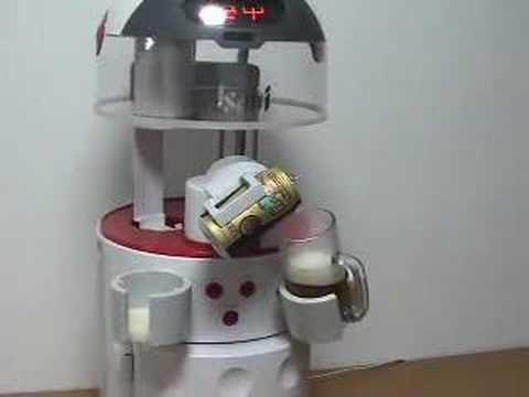 Asahi Robocco: Beer-pouring robot