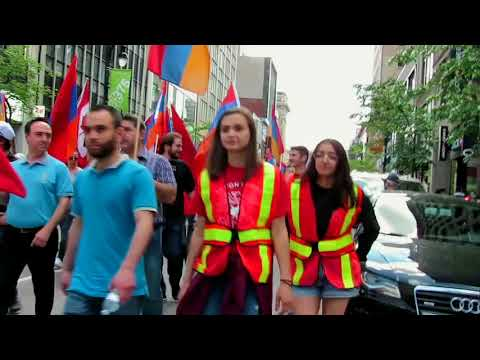 Montreal's Humanity March against Genocides
