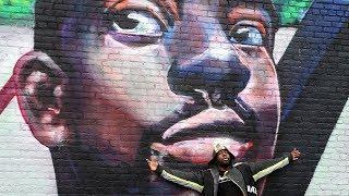 Newark unveils mural honoring artist Wyclef Jean