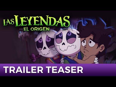 Las Leyendas: EL ORIGEN (TEASER OFICIAL) | Próximamente en cines