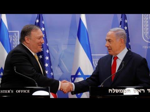 بومبيو يواصل جولته الشرق أوسطية ويؤكد من إسرائيل على ضرورة مواجهة -العدوان الإيراني-  - نشر قبل 3 ساعة