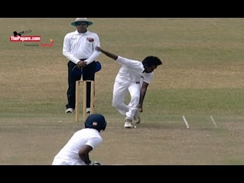 Sri Lanka's next fast bowling star - Nuwan Thushara