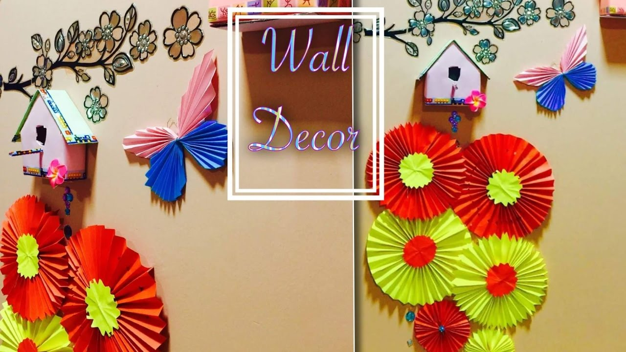 Wall Decor Diy A4 Sheet Chinese Paper Fan Medallions
