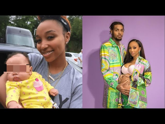 So Cute! Zonnique Pullins Finally Shows Off Her Baby Girl Face Who Looks Exactly Like Her!
