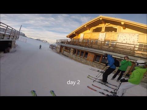 Skiing Madonna Di Campiglio, Italy 2016