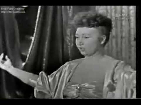 Female Baritone (I've got a secret, 1960)