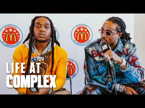 Quavo & Takeoff Talk About Flying To The Moon! | #LIFEATCOMPLEX