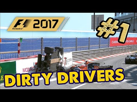 JUGADORES SUCIOS/DIRTY DRIVERS | F1 2017 The Game