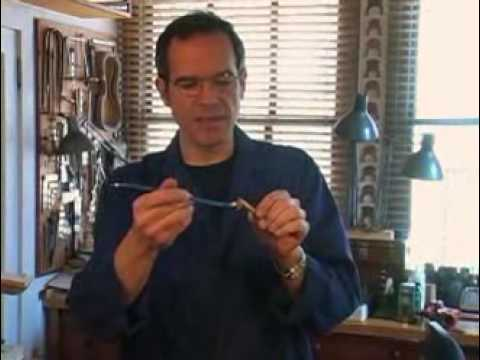 Violin Maker Guy Rabut On When To Adjust A Sound Post