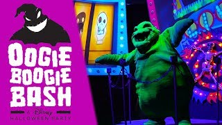 Oogie Boogie Bash NEW Halloween Party at Disney California Adventure!