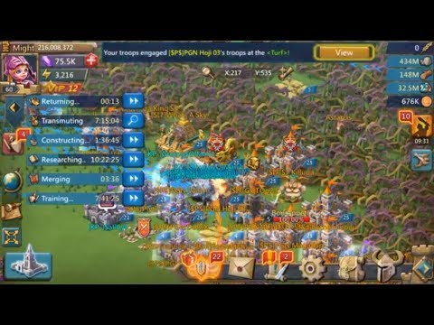 Freeing Leaders And Defending Against Overlord! Lords Mobile