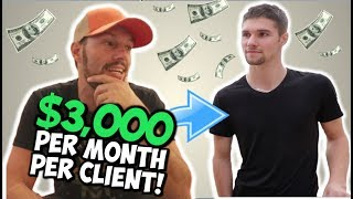 $3,000 PER MONTH CLIENT SELLING TIPS | Chris Record Vlogs 89