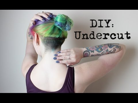 How to cut your own undercut youtube how to cut your own undercut solutioingenieria Images