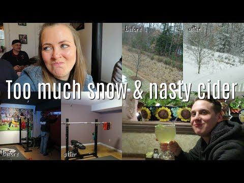 TOO MUCH SNOW & NASTY CIDER | shamelessvlog