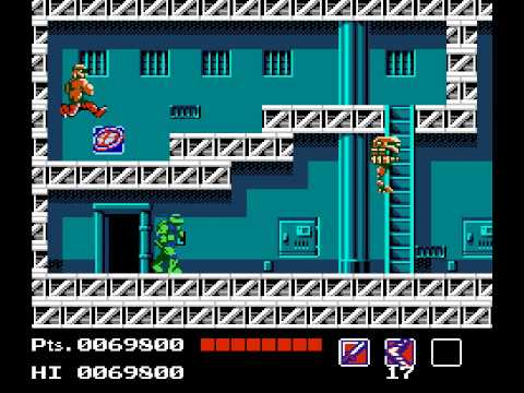 Teenage Mutant Ninja Turtles Walkthrough/Gameplay NES HD 1080p