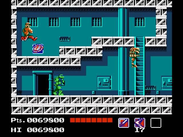 Teenage Mutant Ninja Turtles Walkthrough/Gameplay NES HD 1080p