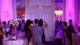 NJ Wedding of Richard & Vanessa @ The Atruim West Orange NJ with Alan Keith Entertainment Thumbnail