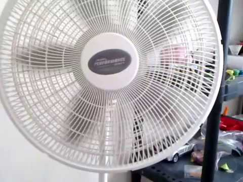 Lasko Stand Fan Performance Series Demonstration Re