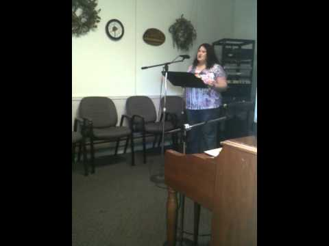 "Rev. Christy Blankenship preaching ""How to Live Vi..."