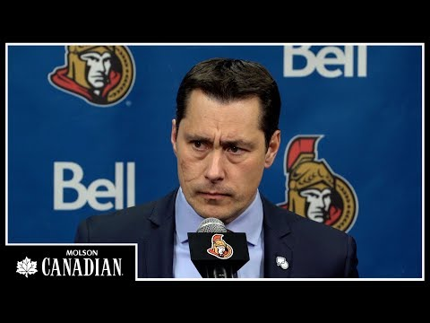 Jan 26: Sens vs. Bruins - Coach Post-game Media