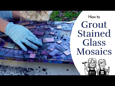 How To Grout A Mosaic Video