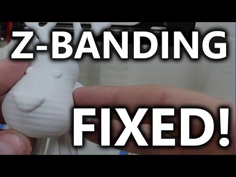 Z-Banding Fixed! - Improving the MP Select Mini