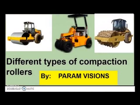 Different Types Of Compaction Rollers/Compaction Rollers And Its Types
