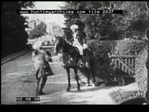 Horse Chase Film, 1900s - Film 2237