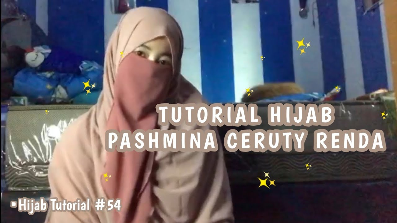 TUTORIAL HIJAB PASHMINA CERUTY RENDA DENGAN 5 STYLE CANTIK & SIMPLE ALA AKU 😍 | Hijab Tutorial #54