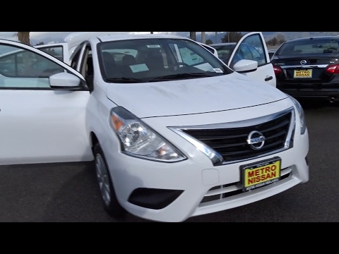 2017 Nissan Versa Sedan San Bernardino, Fontana, Riverside, Palm Springs, Inland Empire, CA 35861