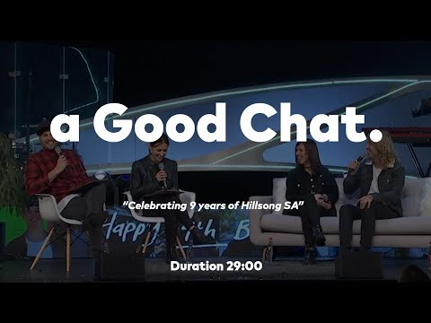 A Good Chat : 9 Years of Hillsong South Africa with Phil & Lucinda Dooley