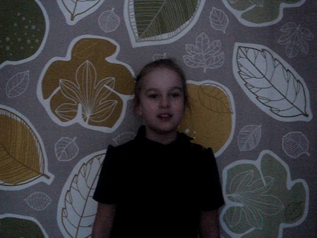 Изображение предпросмотра прочтения – АннаКадькалова читает произведение «Осень (Листья вполе пожелтели…)» М.Ю.Лермонтова