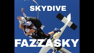 Skydiving in Dubai! | Dubai Life from the sky review | fazzasky