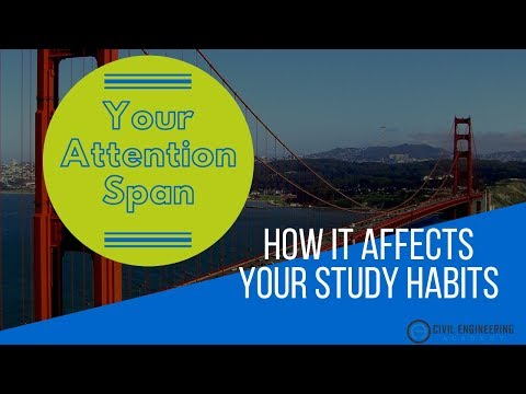 How Your Attention Span Is Hurting Your Study Habits