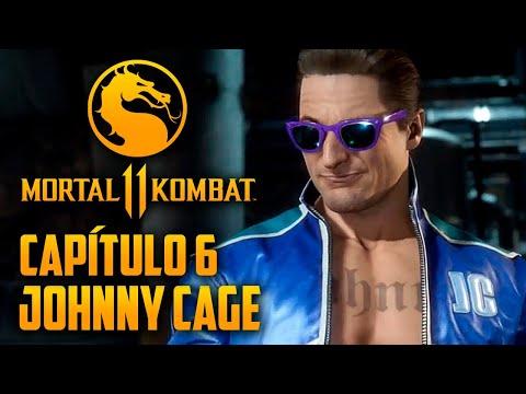 Mortal Kombat 11 Capitulo 06 - Johnny Cage e o seu clone (PT-BR PS4 PRO)