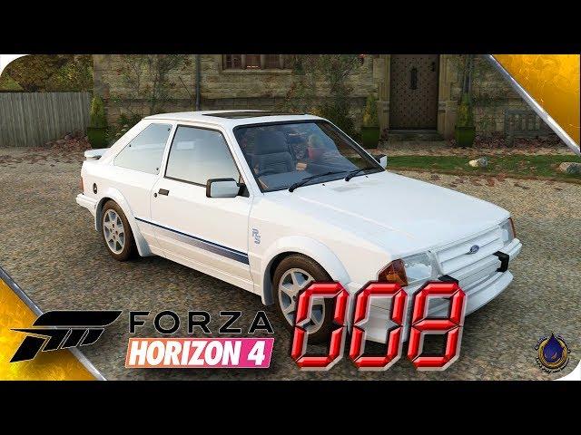 FORZA HORIZON 4 🚘 [008] Scheunenfund: 1986 Ford Escort RS Turbo