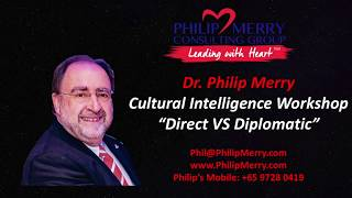 Cultural Intelligence Keynote Sri Lanka - Direct Vs Diplomatic
