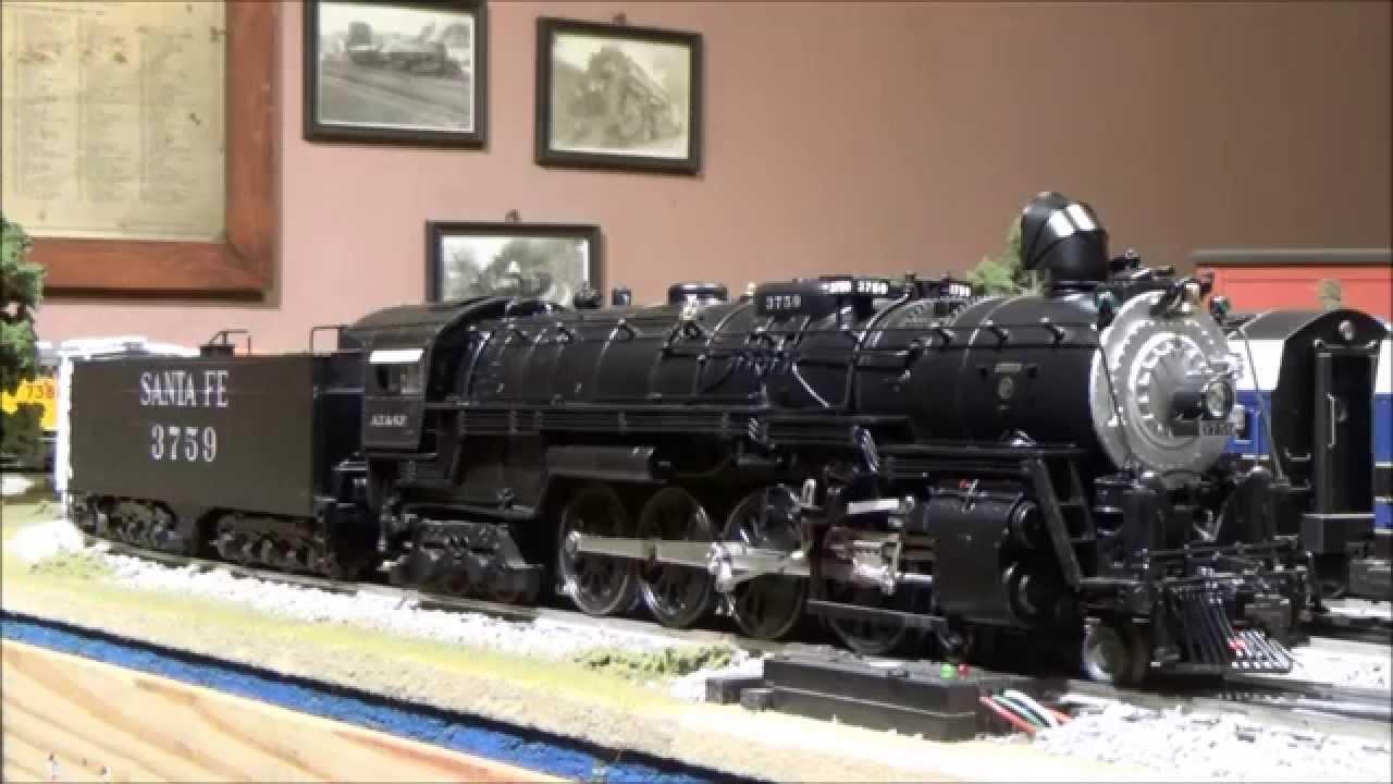 Lionel Legacy Santa Fe Northern  3759