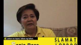 Paint Araneta Yellow: Sonia Roco on the true meaning of People Power