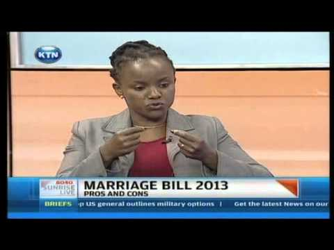 Sunrise Live Interview : Marriage Bill 2013