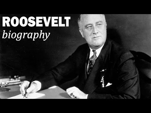 a biography of franklin delano roosevelt the united states president