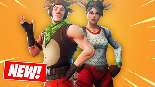 RED NOSED RAIDER AND CANDY AXE ARE BACK! NEW RED NOSED RANGER AND CANDY CANE AXE! FORTNITE ITEM SHOP