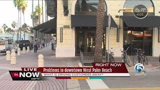 Problems in Downtown West Palm Beach