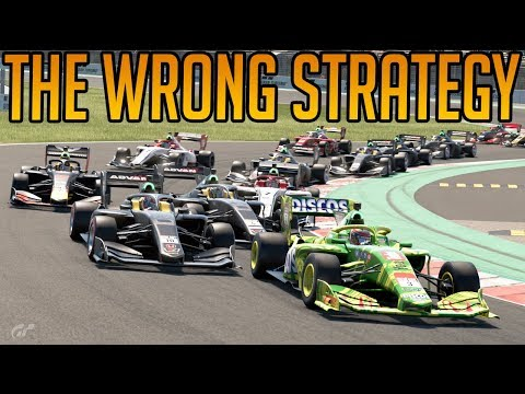 Gran Turismo Sport: Using The 'Wrong' Strategy