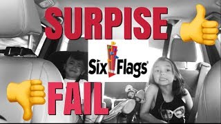 A surprise gone WRONG!
